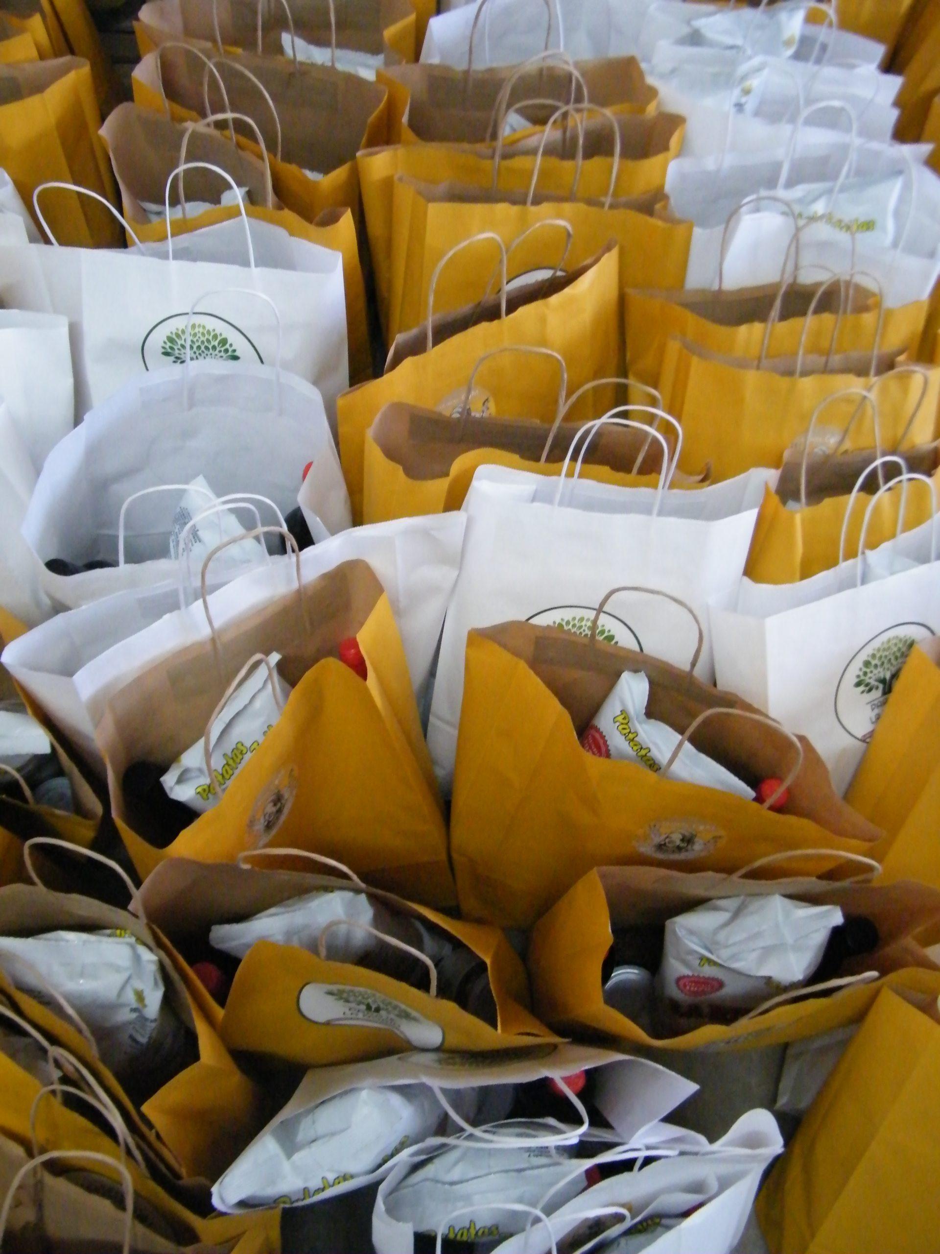 Bolsas regalo para trabajador@s, familia y amig@s